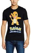 Pokemon Men's Charmander Short Sleeve T-Shirt
