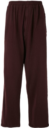 Undercover Wide-Leg Wool Trousers