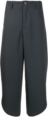 Societe Anonyme Cropped Wide-Leg Trousers