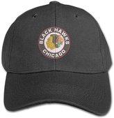 JolinQ Unisex Baby's Chicago hawks Circle Logo Design Snapbacks Style Hat