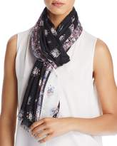 Rebecca Minkoff Ditsy Floral Oblong Scarf