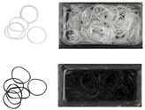 DCNL Hair Accessories Clear & Black Gummi Elastics