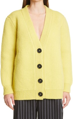 Meryll Rogge Double Face Wool & Cashmere Cardigan