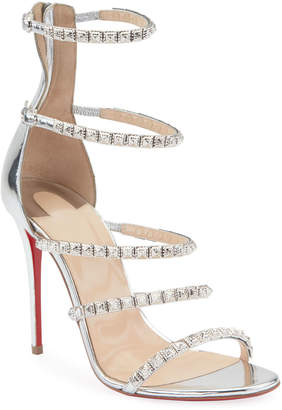 Christian Louboutin Forever Girl 100 Red Sole Sandals