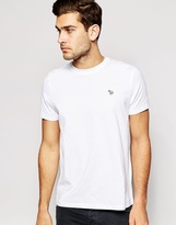 Paul Smith Jeans T-shirt With Zebra Logo Regular Fit - White