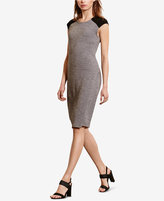 Lauren Ralph Lauren Merino-Suede Sweater Dress