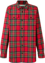 Off-White checked arrows shirt