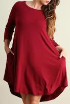 Umgee USA Lily's Shirt Dress