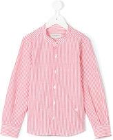 Paolo Pecora Kids - striped shirt - kids - Cotton/Linen/Flax - 6 yrs