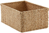 Container Store Large Sonoma Water Hyacinth Bin natural