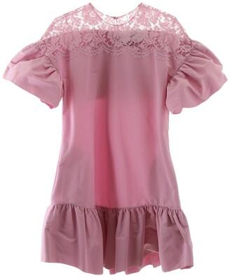 Valentino Laced Ruffle Mini Dress