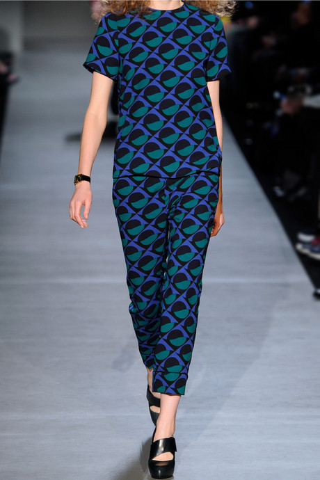 Marc by Marc Jacobs Etta printed crepe pants