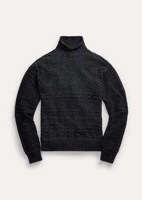 Ralph Lauren Indigo Cotton Sweater