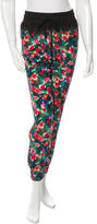 Band Of Outsiders Floral Silk Harem Pants w/ Tags