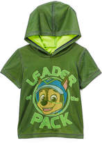 Freeze Paw Patrol Green 'LEADER PACK' Hooded Tee - Toddler