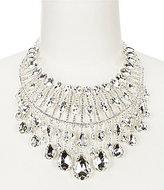 Natasha Accessories Heather Crystal Statement Necklace