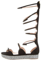 Giambattista Valli Suede Gladiator Sandals w/ Tags