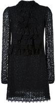 Giamba lace overlay dress