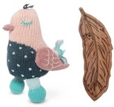 Infant Finn + Emma Stella Buddy & Feather Rattle Set