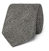 Altea - 8cm Nilo Puppytooth Wool And Cashmere-blend Tie