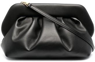 Themoire Bios leather clutch bags