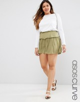 Asos Casual Tiered Shorts