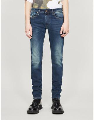 Diesel Thommer slim-fit skinny jeans, Mens, Size: 3032, Denim blue