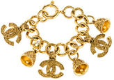 Chanel Ornate CC Charm Bracelet