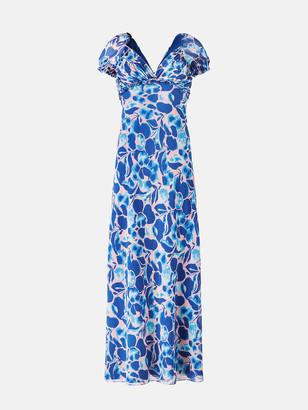 Diane von Furstenberg Chevelle Chiffon-Blend Gown