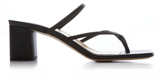 AEYDĒ Larissa Nappa Leather Sandals