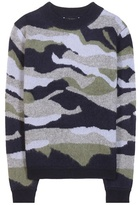 81 Hours 81hours CIT JQ camouflage cashmere sweater