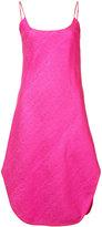 Maiyet curve hem dress - women - Silk/Cotton - 000