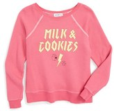 Wildfox Couture Girl's 'Milk & Cookies' Sweater