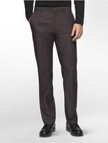 Calvin Klein Straight Fit Nailhead Textured Pants