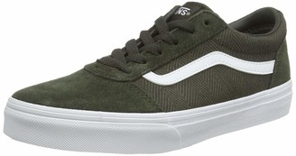 Vans Unisex Kid's Ward Suede/Canvas Trainers