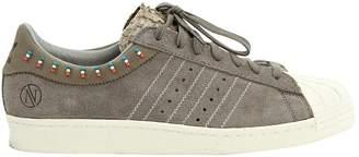 adidas Superstar Grey Suede Trainers