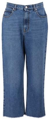 Alexander McQueen High waist jeans