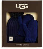 UGG Boys' Knit Hat & Mittens Boxed Set - Sizes 2-6