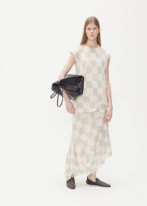 Jil Sander Sleeveless Checkerboard Top