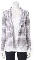 Juniors' SO® French Terry Knit Blazer