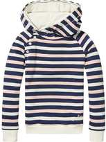 Scotch & Soda Striped Twisted Hoodie | Home Alone