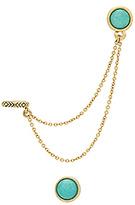 House Of Harlow Nuri Dangle Earring Set in Metallic Gold.