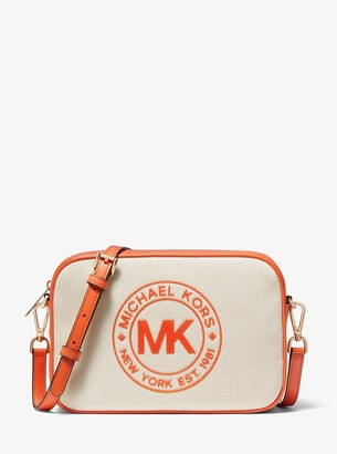 MICHAEL Michael Kors Fulton Sport Large Canvas Crossbody Bag