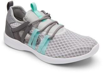 Vionic Mesh Lace-Up Sneakers w/ Side Cutout - Adore