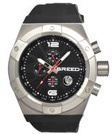 Breed Genaro Stainless Steel Tachymeter Watch