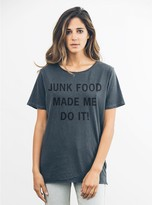 Junk Food Clothing Made Me Do It! Tee-jtblk-xs