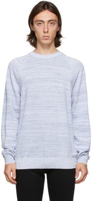 HUGO BOSS Blue Sadreno Sweater