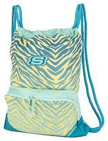 Skechers Drawstring Backpack - Blue/Yellow