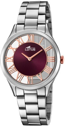 Lotus Analog Quartz Watch with Stainless Steel Strap 18395/5