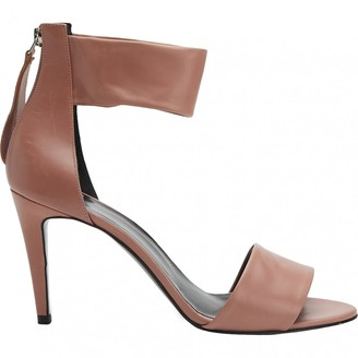 Pierre Hardy Pink Leather Sandals